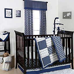 The Peanutshell™  Geometry Crib Bedding Collection