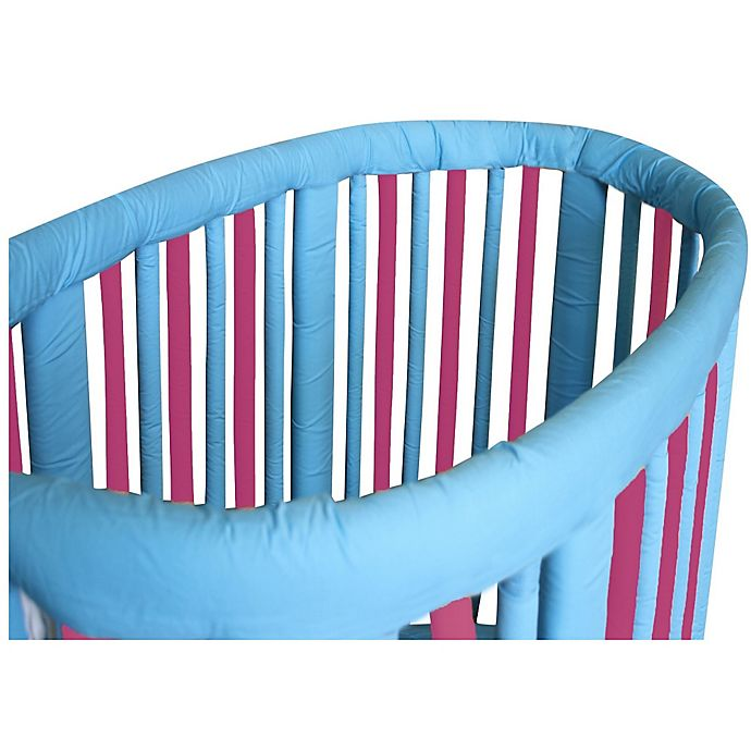 Alternate image 1 for Go Mama Go Designs® Slat Cover Teething Guards for Stokke® Cribs