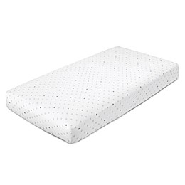 aden® by aden + anais® Dove Crib Sheet in White/Grey Star