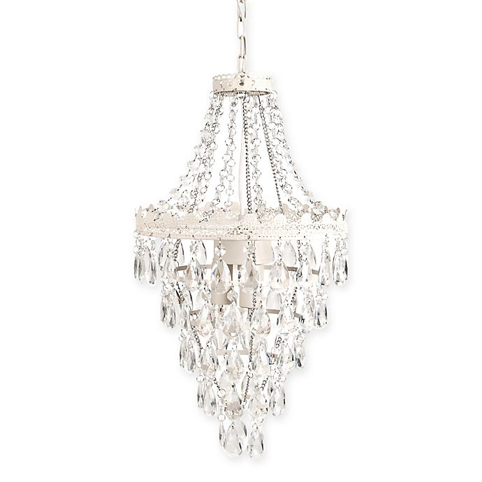 Alternate image 1 for Sleeping Partners Pendant Chandelier in White Diamond