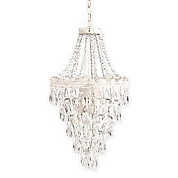 Sleeping Partners Pendant Chandelier in White Diamond
