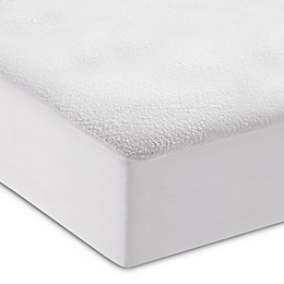 dreamSERENE® Comfort Terry™ Crib Mattress Protector in White (Set of 2)