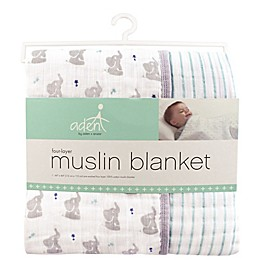 aden® by aden + anais® Elephant Muslin Dream Blanket