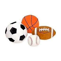 Melissa and Doug® 4-Piece Sports Throw Pillow Set