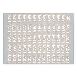 Elegant Baby® Love Knit Blanket in Grey