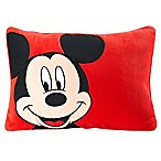 Disney® Mickey Toddler Throw Pillow in Red
