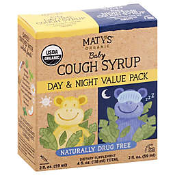 Maty's® Organic Baby 4 fl. oz. Day & Night Cough Syrup Value Pack
