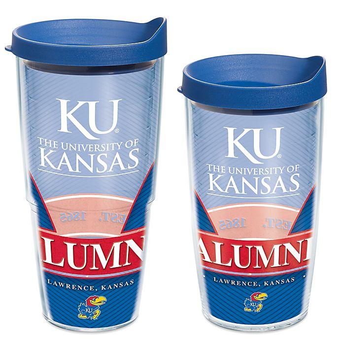 Kansas Jayhawks Alumni Wrap Tumbler