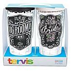 Tervis® Wedding Bride and Groom 24 oz. Chalkboard Wrap Tumbler with Lid