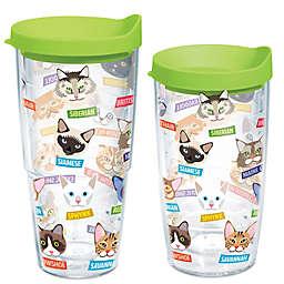 Tervis® Flat Art Cat Breed Wrap Tumbler