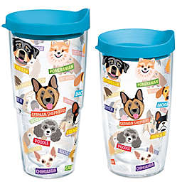 Tervis® Flat Art Dog  Breed Wrap Tumbler