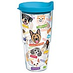 Tervis® Flat Art Dog  Breed 24 oz. Wrap Tumbler