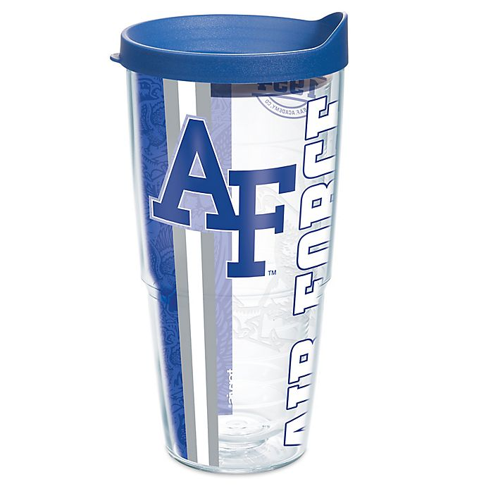 Alternate image 1 for Tervis® Air Force Falcons 24 oz. Pride Wrap with Lid