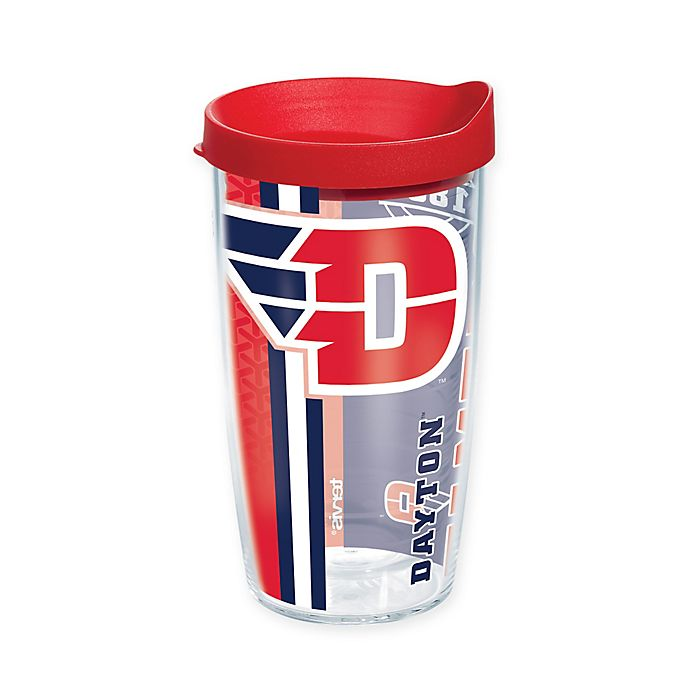 Alternate image 1 for Tervis® University of Dayton Flyers 16 oz. Pride Wrap with Lid