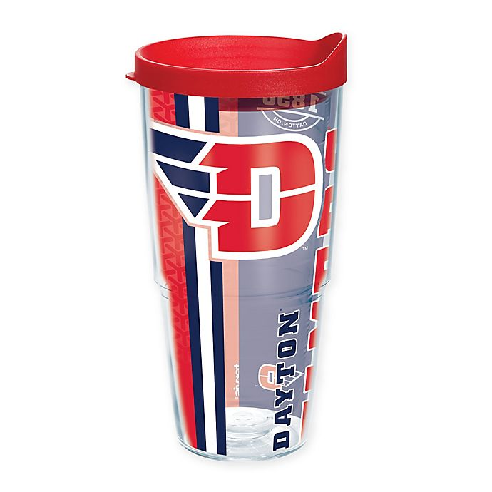 Alternate image 1 for Tervis® University of Dayton Flyers 24 oz. Pride Wrap with Lid