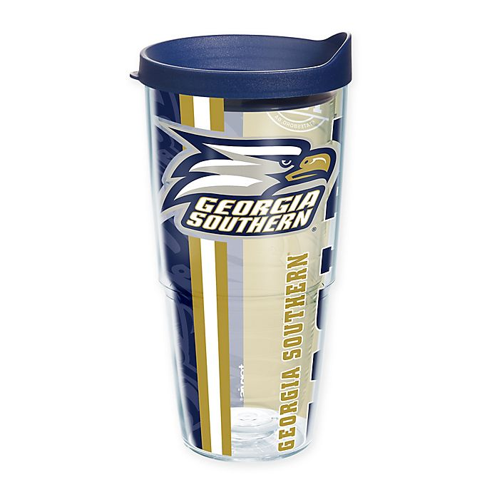 Alternate image 1 for Tervis® Georgia Southern University Eagles 24 oz. Pride Wrap with Lid