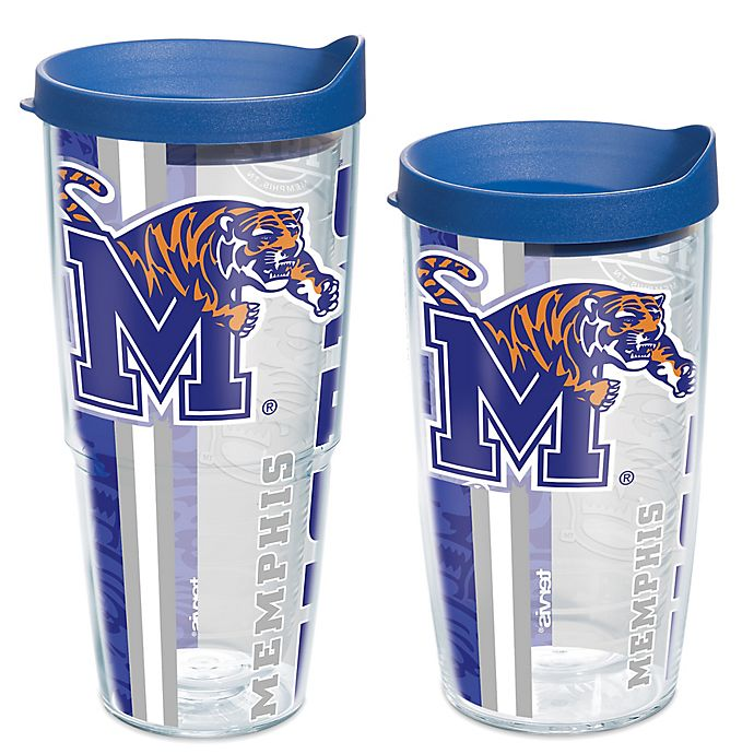 Alternate image 1 for Tervis® University of Memphis Tigers Pride Wrap with Lid