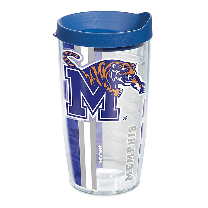 Alternate image 1 for Tervis® University of Memphis Tigers  16 oz. Pride Wrap with Lid