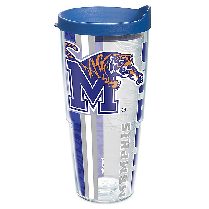 Alternate image 1 for Tervis® University of Memphis Tigers 24 oz. Pride Wrap with Lid