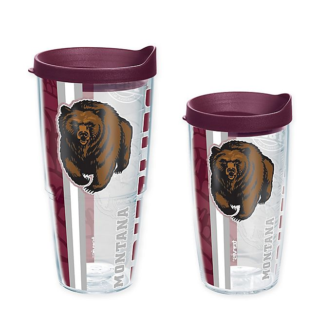 Alternate image 1 for Tervis® University of Montana Grizzlies Pride Wrap with Lid