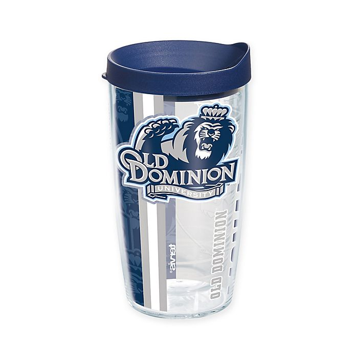 Alternate image 1 for Tervis® Old Dominion University Monarchs 16 oz. Pride Wrap with Lid