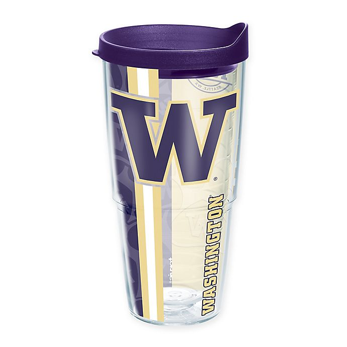 Alternate image 1 for Tervis® University of Washington Huskies 24 oz. Pride Wrap with Lid