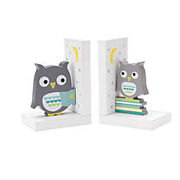 Reed & Barton Hazelnut Hollow Owl Bookends