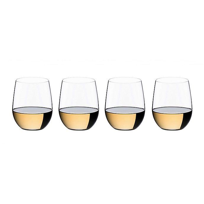 Alternate image 1 for Riedel® O Viognier/Chardonnay Stemless Wine Glasses Buy 3 Get 4 Value Set