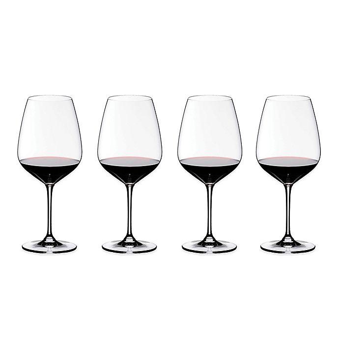 Alternate image 1 for Riedel® Heart to Heart Cabernet Sauvignon Wine Glasses