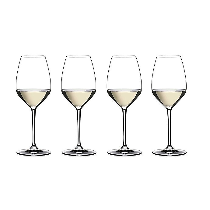 Alternate image 1 for Riedel® Heart to Heart Riesling Wine Glasses