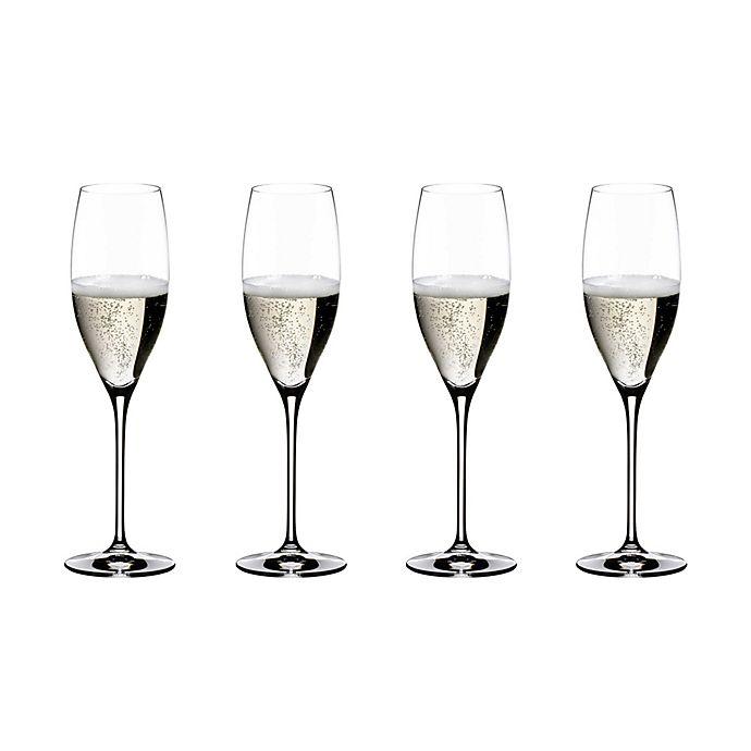 Alternate image 1 for Riedel® Vinum Champagne Wine Glasses Buy 3 Get 4 Value Set
