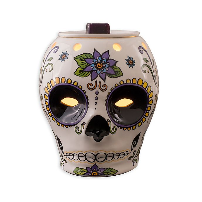 Alternate image 1 for AmbiEscents Day of the Dead Wax Warmer