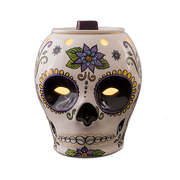 Ambiescents Day Of The Dead Wax Warmer Bed Bath Beyond