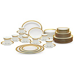 Noritake® Crestwood Gold 50-Piece Dinnerware Set