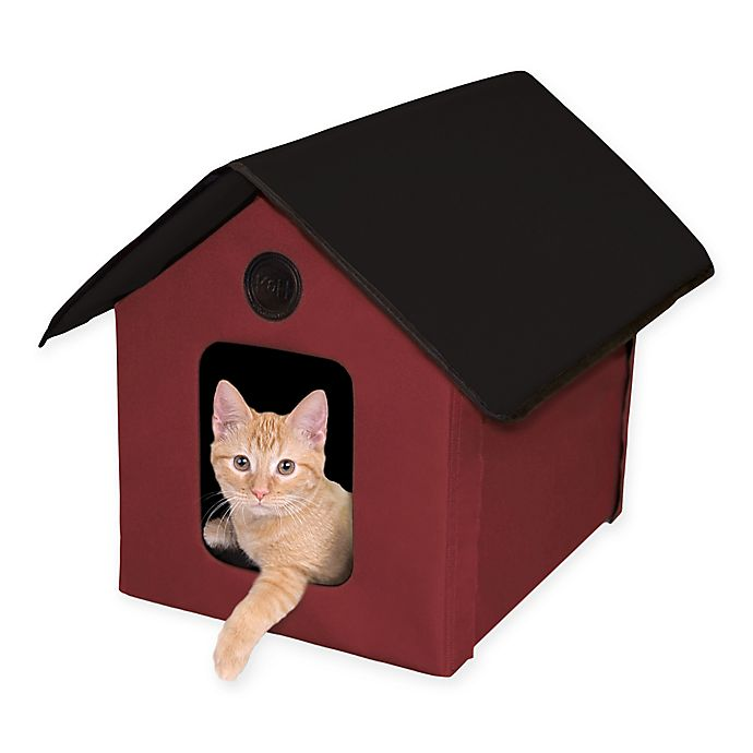 Alternate image 1 for Kitty House in Red