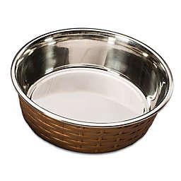 Soho Basket Weave Dish in Copper