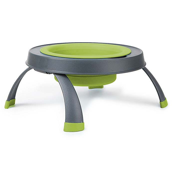 Alternate image 1 for Large Single Elevated Pet Feeder in Green