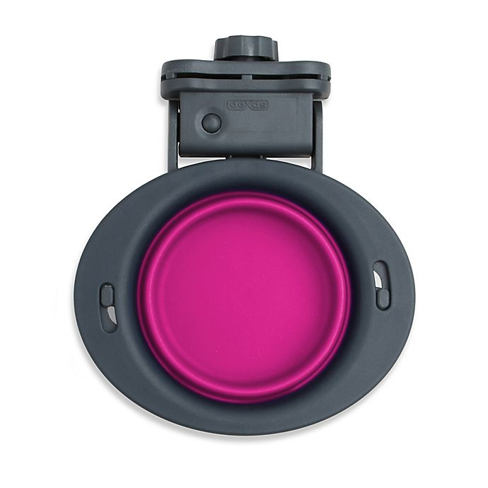 Alternate image 1 for Small Collapsible Kennel Bowl in Pink
