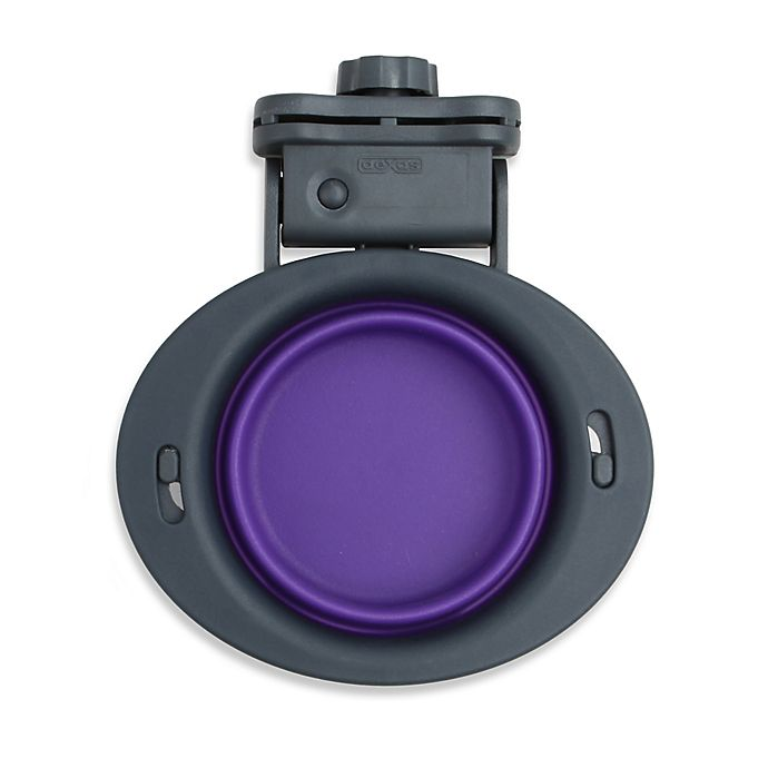 Alternate image 1 for Small Collapsible Kennel Bowl in Purple