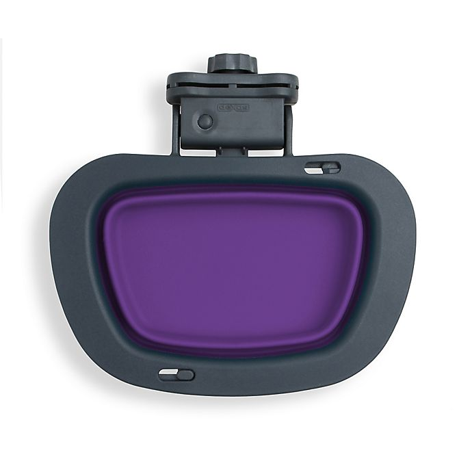 Alternate image 1 for Large Collapsible Kennel Bowl in Purple