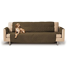 Precious Tails Durable Quilted Microsuede Sofa Cover
