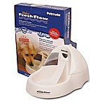 Petmate Deluxe Fresh Flow 216oz Waterer in White