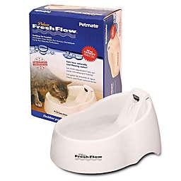 Petmate® Deluxe Fresh Flow 50 oz. Pet Waterer in Linen