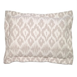 Aura Annapolis Linen Pillow Sham in Ecru
