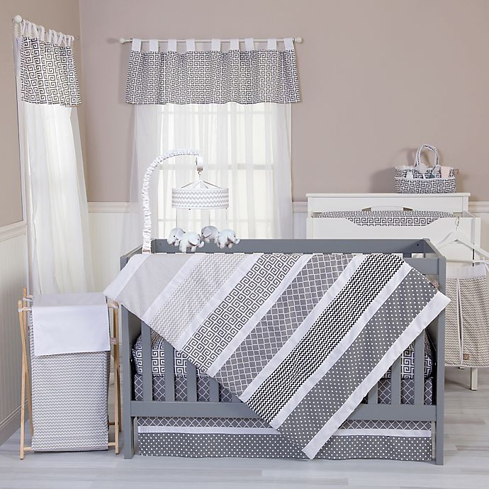 Alternate image 1 for Trend Lab® Ombre Grey Bedding Collection