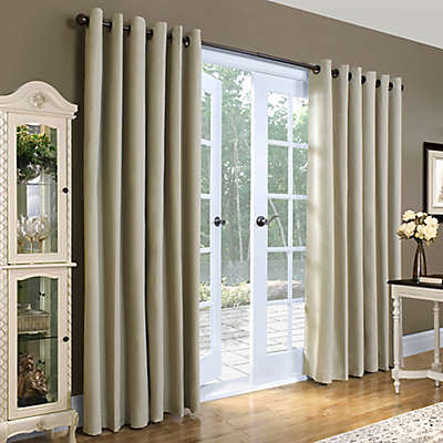 Thermalogic® Weathermate 84-Inch Double-Width Grommet Top Window Curtain Panel Pair