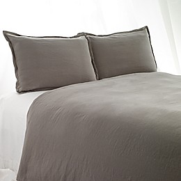 Aura Solid Linen Cotton Bedding Collection