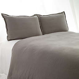 Aura Solid Linen Cotton Duvet Cover
