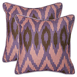 Safavieh Easton Throw Pillows in Lavender (Set of 2)