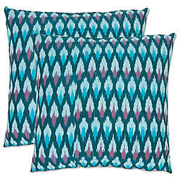 Safavieh LucaThrow Pillows in Blue (Set of 2)